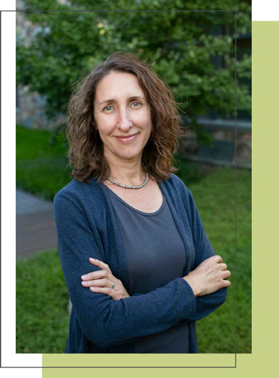 Jennifer Wilson smiling - founder / principal of New Leaf Coaching & Consulting
